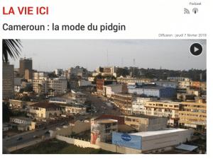 Cameroun : la mode du pidgin