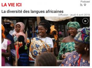 La diversité des langues Africaines