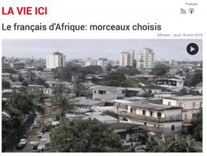 Le français d'Afrique: morceaux choisis