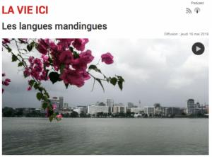 Les langues mandingues