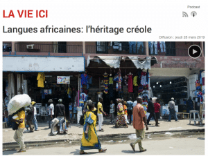Langues africaines: l'héritage créole