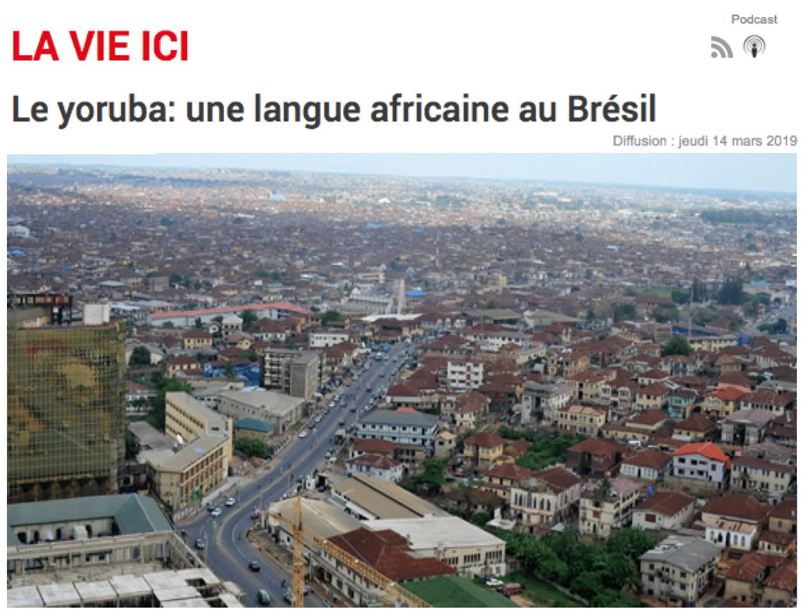 Le yoruba: une langue africaine au Brésil