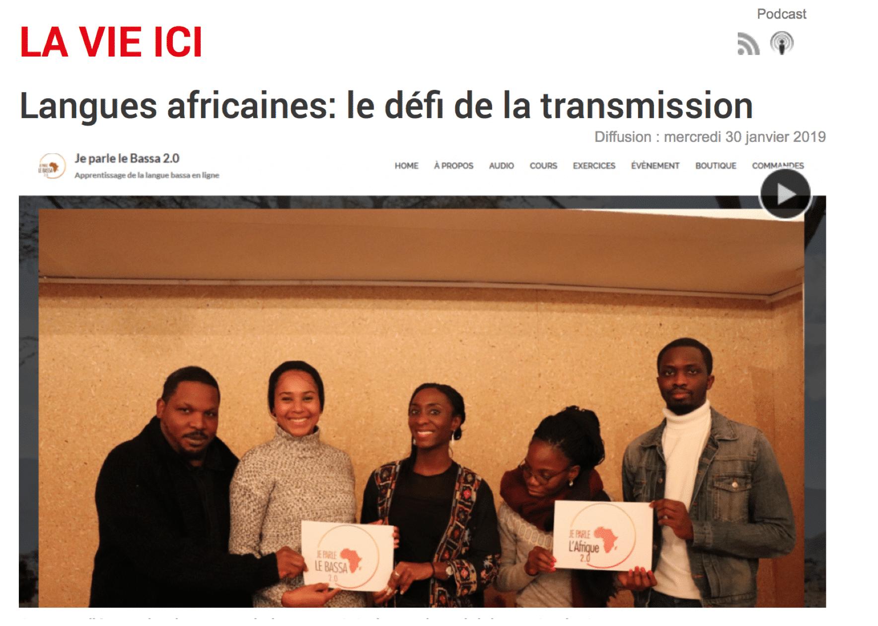 Langues africaines: le défi de la transmission