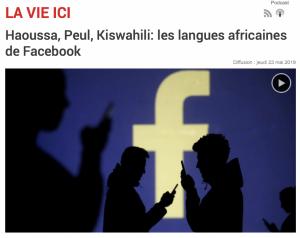 Haoussa, Peul, Kiswahili: les langues africaines de Facebook