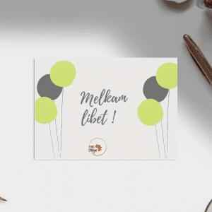 Carte d'anniversaire – Langue Amharique