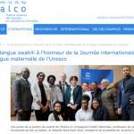 La langue swahili à l'honneur de la Journée internationale de la langue maternelle de l'Unesco