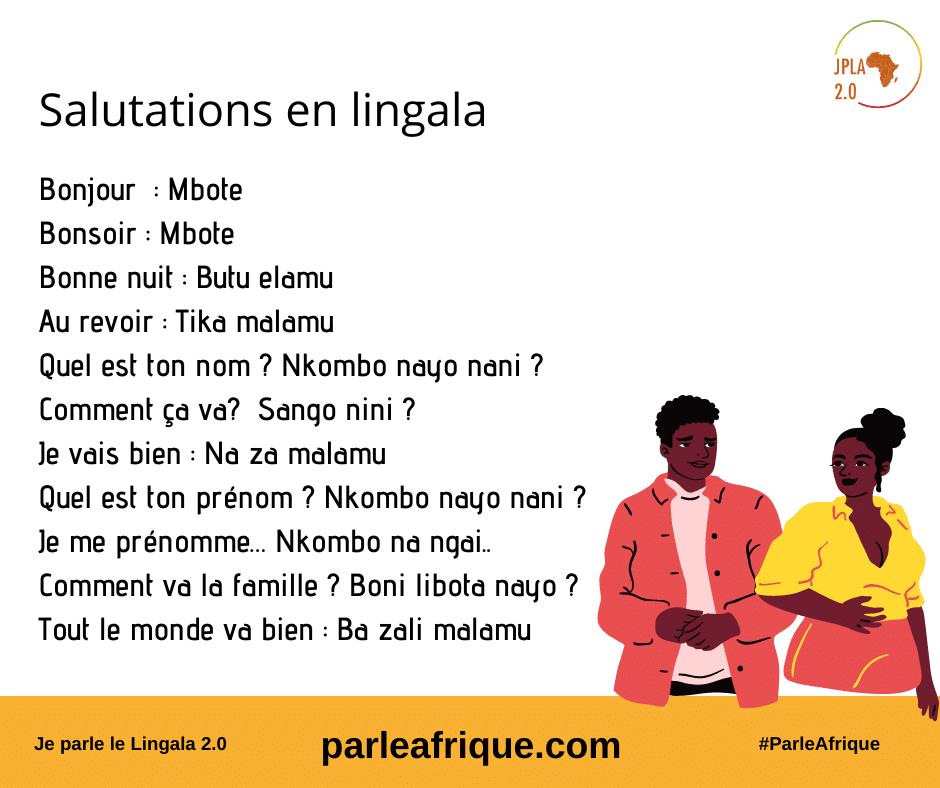 Salutations en Lingala