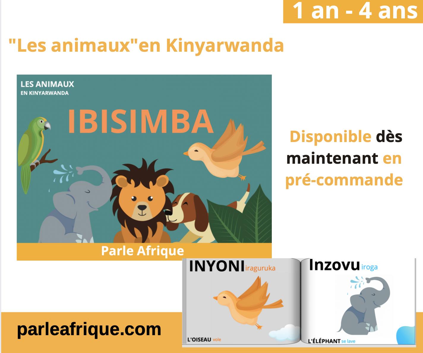 livre enfant Kinyarwanda parle Afrique